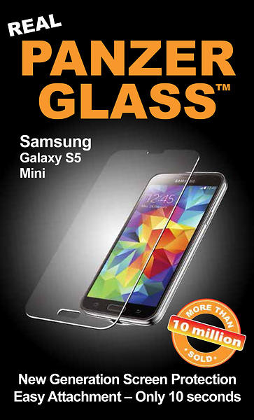 PanzerGlass Screen Protector for Samsung Galaxy S5 Mini