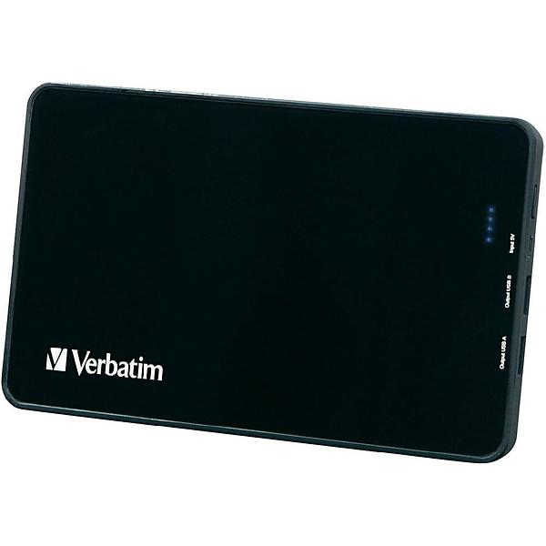 Verbatim Dual USB Portable Power Pack 10000mAh