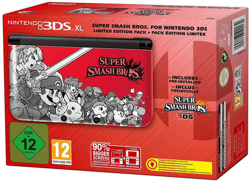 Best deals on nintendo 3ds xl incl super smash bros - How much is a super nintendo console worth ...
