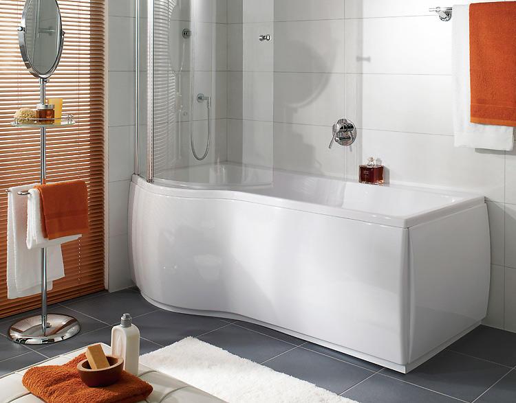 kombi badekar Best pris på Svenska Badkar Variant Kombi 170 V Viska Hybrid (Hvit  kombi badekar