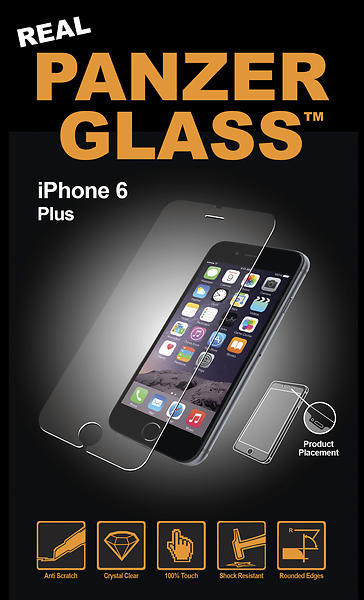PanzerGlass Screen Protector for iPhone 6 Plus