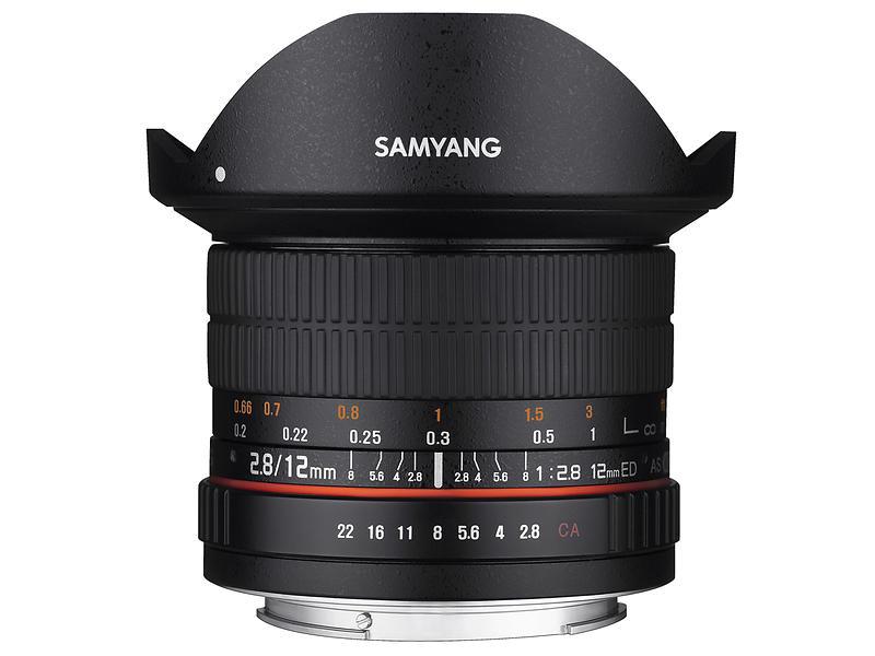 Samyang 12/2,8 ED AS NCS Fisheye for Canon