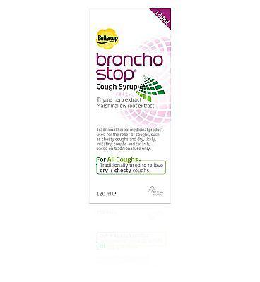 Omega Pharma Buttercup Bronchostop Elixir 120ml