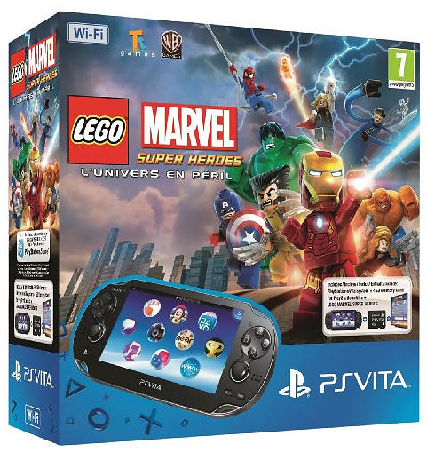 Sony PlayStation Vita (+ LEGO Marvel Super Heroes)