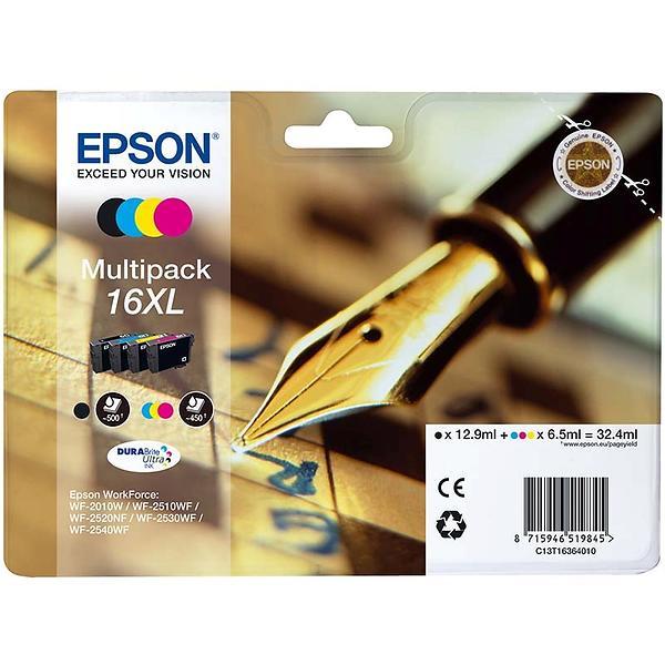 Epson 16XL (Nero/Cyan/Magenta/Giallo)
