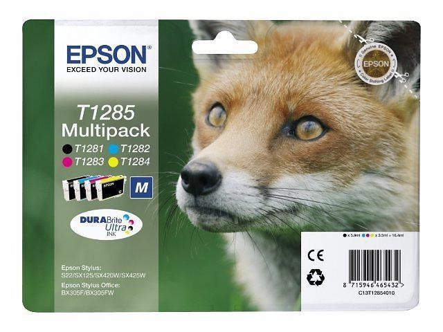 Epson T1285 (Nero/Cyan/Magenta/Giallo)