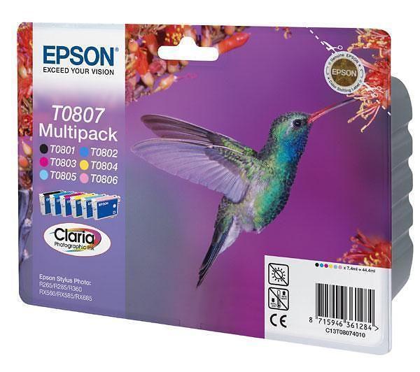 Epson T0807 (6 Färger)