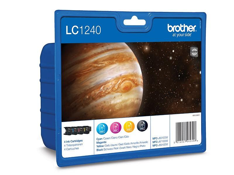 Brother LC1240 (Nero/Cyan/Magenta/Giallo)