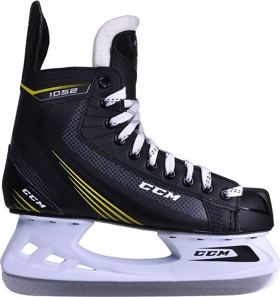 ccm tacks 1052 jr au meilleur prix comparez les offres de patins glace sur led nicheur. Black Bedroom Furniture Sets. Home Design Ideas