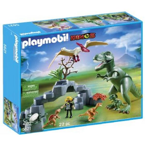 playmobil dinos 5621 dino club set au meilleur prix comparez les offres de playmobil sur. Black Bedroom Furniture Sets. Home Design Ideas