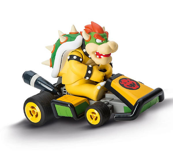 best deals on carrera rc mario kart 7 bowser 162064 rtr rc cars compare prices on pricespy. Black Bedroom Furniture Sets. Home Design Ideas