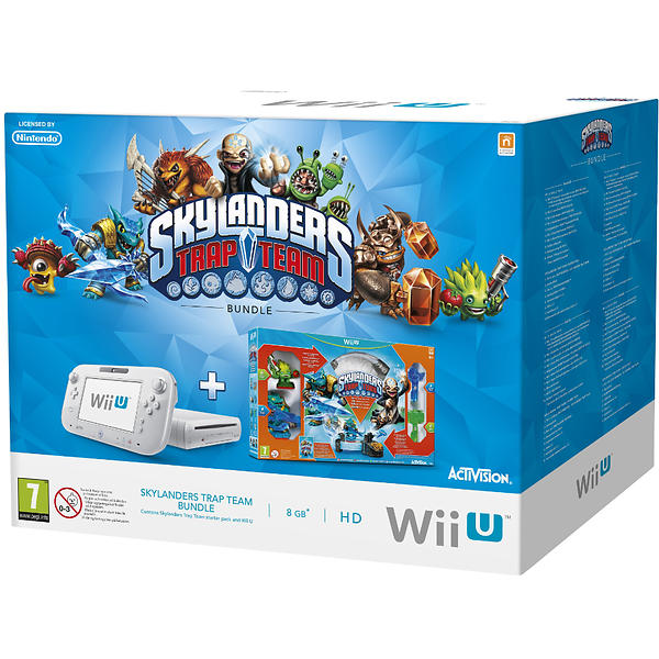 Nintendo Wii U Basic (+ Skylanders: Trap Team)
