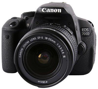 canon eos 700d 18 55 3 5 5 6 iii fotocamera reflex e