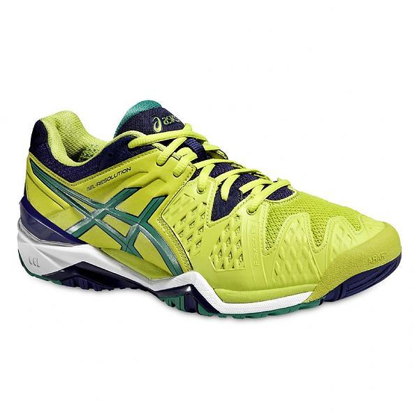 best deals on asics gel resolution 6 s tennis shoes