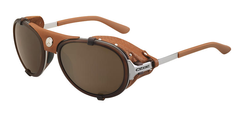 Солнцезащитные очки с боковыми