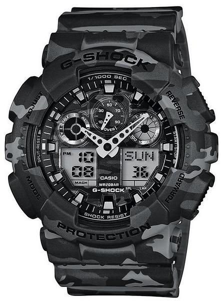 casio g shock ga 100cm 8a au meilleur prix comparez les offres de montre sur led nicheur. Black Bedroom Furniture Sets. Home Design Ideas