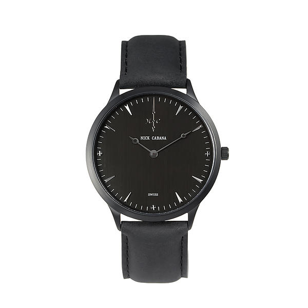 Nick Cabana Nilaya Gun Black Leather