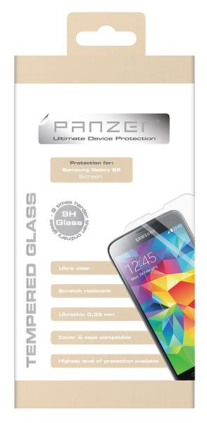 Panzer Tempered Glass Screen Protector for Samsung Galaxy S5