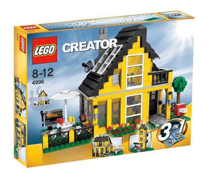 Lego creator 4996 la maison d 39 t au meilleur prix for Offre de prix maison