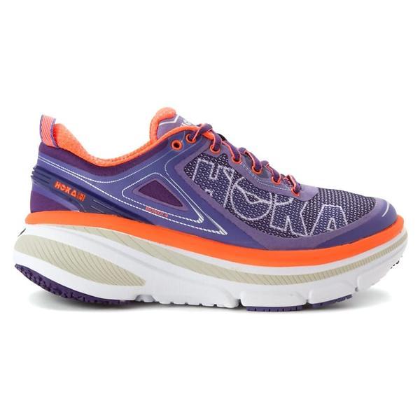 Hoka Womens Running Shoes Grey Pink