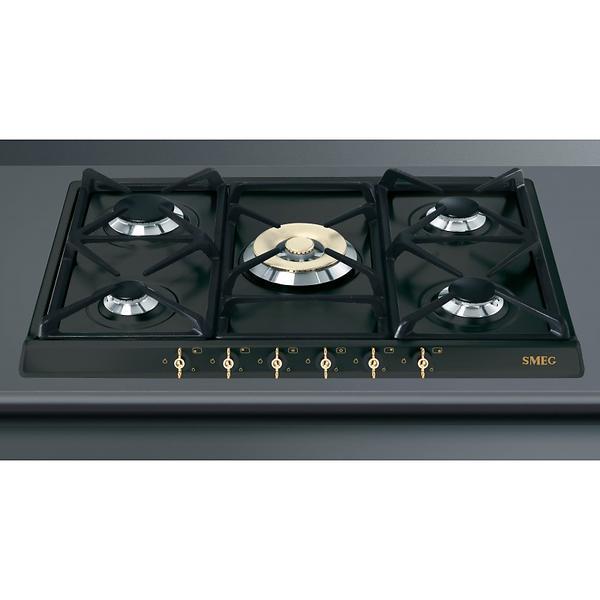 smeg spr876agh gris au meilleur prix comparez les offres de plaque de cuisson sur led nicheur. Black Bedroom Furniture Sets. Home Design Ideas