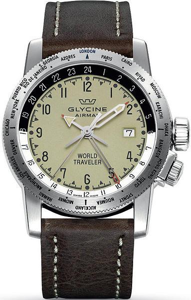Glycine Airman World Traveler 3939.15.LB7BF