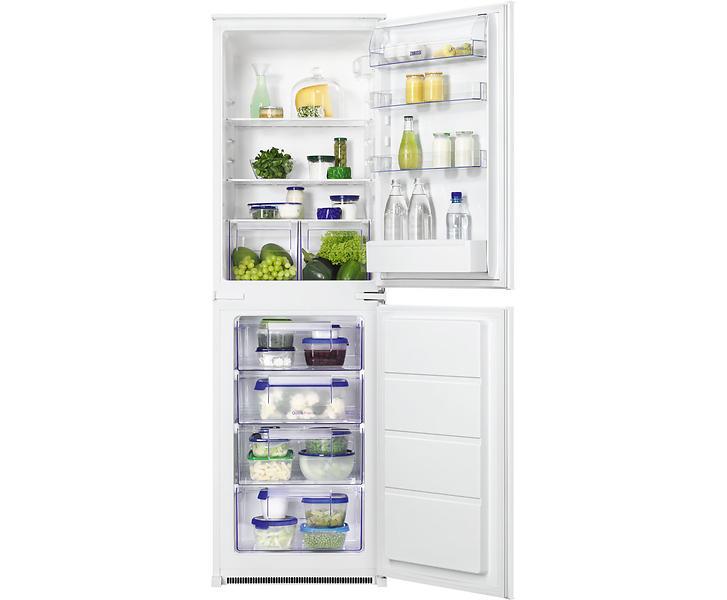 best deals on zanussi zbb27450sa white fridge freezer. Black Bedroom Furniture Sets. Home Design Ideas
