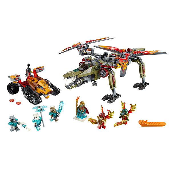 Rescue Legends King Lego Crominus' Of Chima 70227 XTZiuOPk