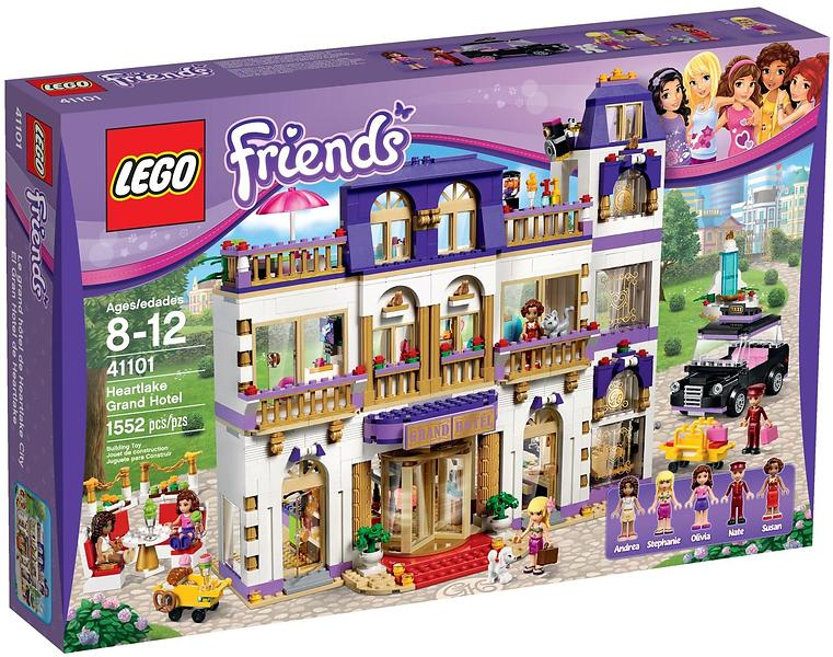 Best deals on LEGO Friends 41101 Heartlake Grand Hotel LEGO ...