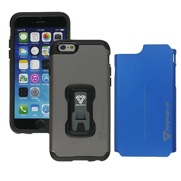 Armor-X Rugged Case with X-Mount for iPhone 6