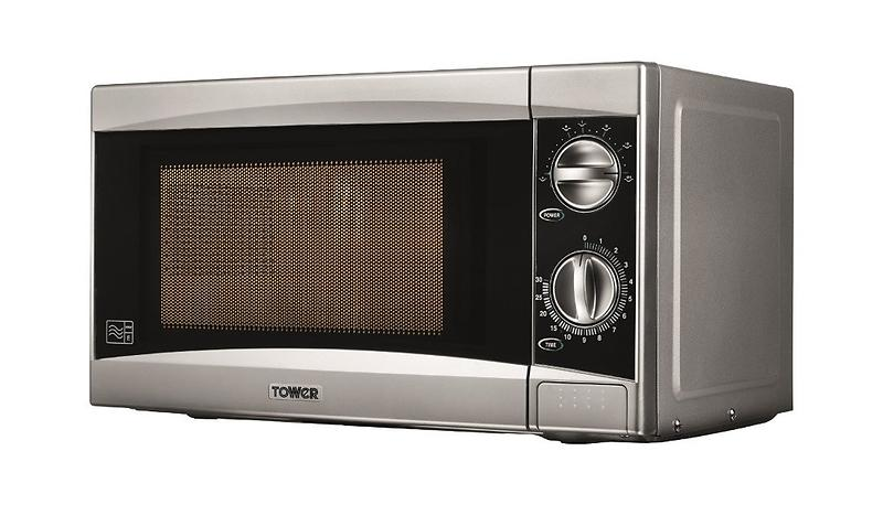 Best Deals On Tower T24001 Silver Microwaves Compare Prices Pricespy