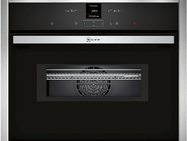 Neff c17mr02n0 inox forno al miglior prezzo confronta - Neff elettrodomestici recensioni ...