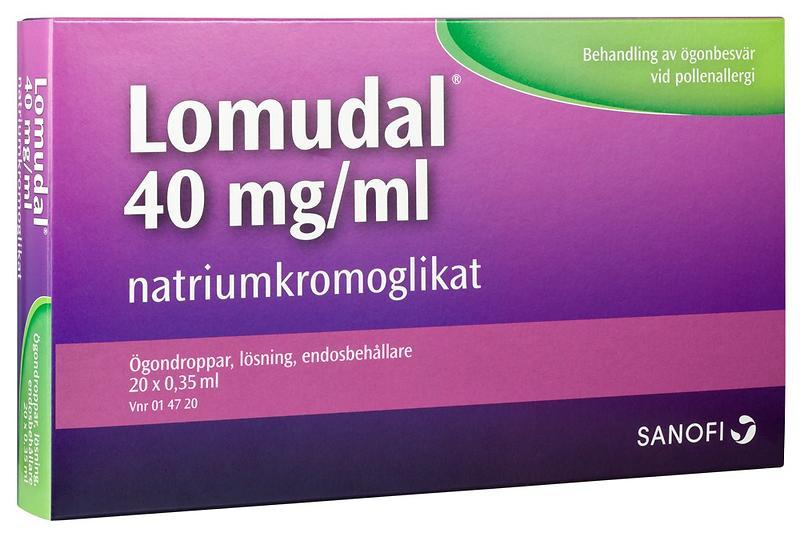 f5ca03107 Best pris på Sanofi-Aventis Lomudal Øyedråper 40mg/ml 7ml 20 Doser ...