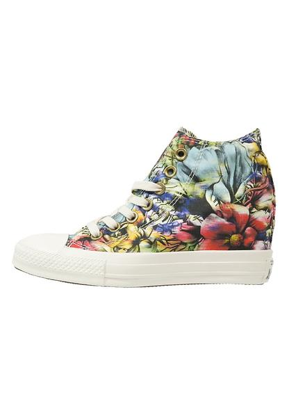 Converse Chuck Taylor All Star Lux Floral Mid Cotton (Donna)