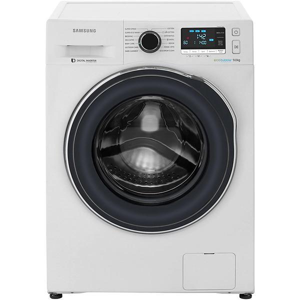 d tails produit samsung ww90j6410cw blanc machine laver. Black Bedroom Furniture Sets. Home Design Ideas