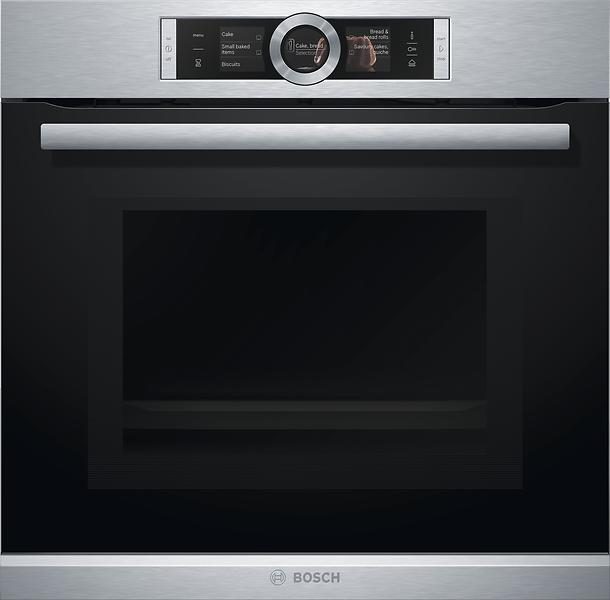 review of bosch hng6764s1 stainless steel built in oven. Black Bedroom Furniture Sets. Home Design Ideas