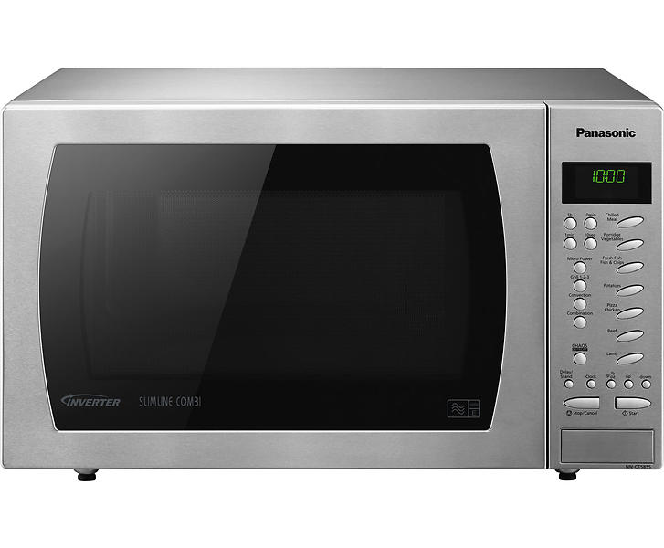 Best Deals On Panasonic Nn Ct585s Silver Microwaves Compare Prices Pricespy