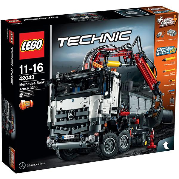 Lego technic 42043 mercedes benz arocs 3245 au meilleur for Mercedes benz creator