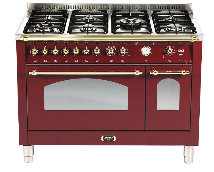 Lofra RRD126MFT+E/2AEO (Rosso) Cucina al miglior prezzo - Confronta ...
