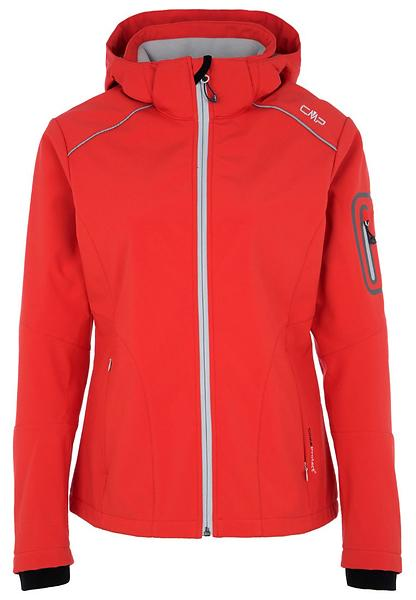 CMP Softshell Jacket Zip Hood 3A05396 (Donna)