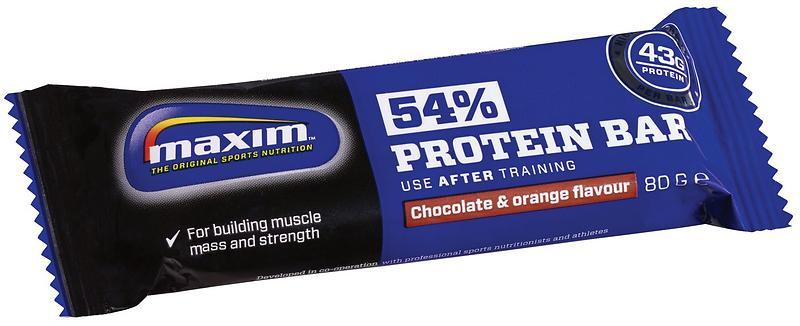 maxim 54 protein bar 80g