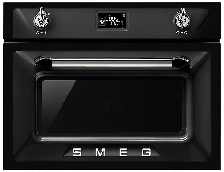 Smeg sf4920mcn nero forno al miglior prezzo confronta for Miglior forno