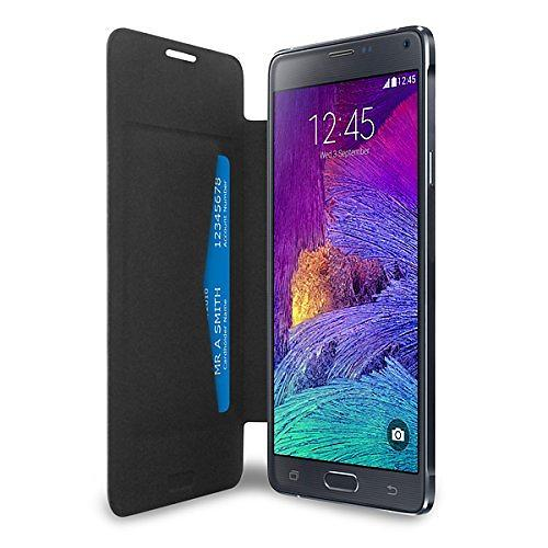Puro Booklet Battery Case for Samsung Galaxy Note 4