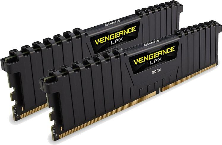 Corsair Vengeance LPX Black DDR4 2400MHz 2x4GB (CMK8GX4M2A2400C14)