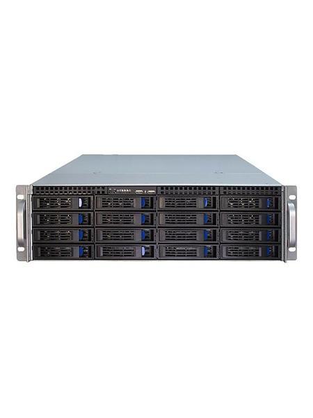 Inter-Tech IPC 3U-3416 (Nero/Argento)