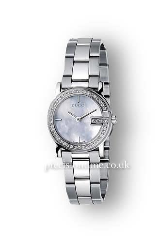 3309c30afaf Best deals on Gucci 100G Round YA101510 Watch - Compare prices on PriceSpy