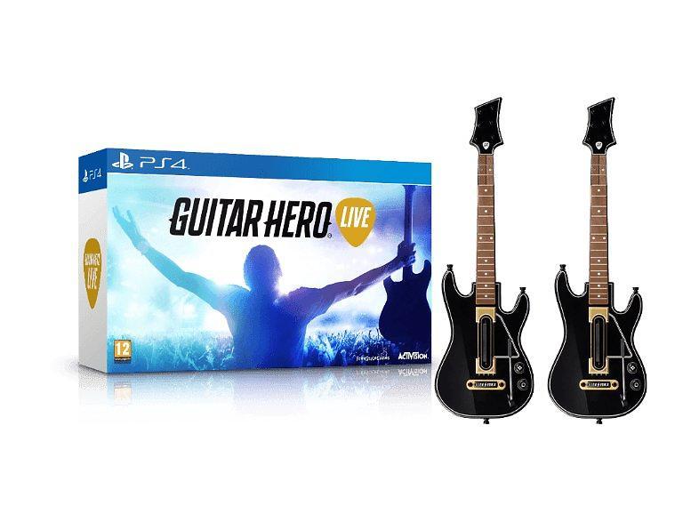 guitar hero live 2x guitare ps4 au meilleur prix comparez les offres de jeu ps4 sur. Black Bedroom Furniture Sets. Home Design Ideas
