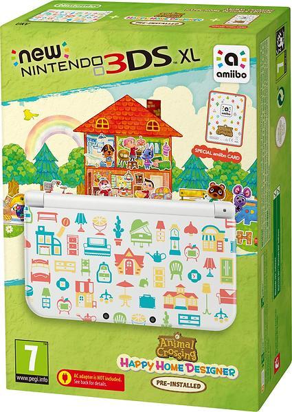 Nintendo New 3DS XL (+ Animal Crossing: Happy Home Designer) - Special Ed.
