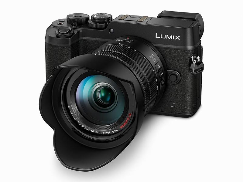Panasonic Lumix DMC-GX8 + 14-140/3,5-5,6 OIS