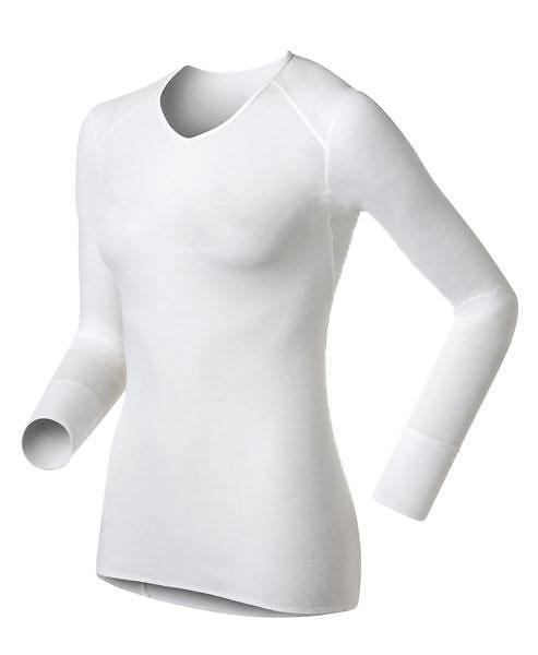 Odlo Warm LS Shirt V-Neck (Donna)